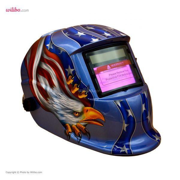 کلاه ماسک اتوماتیک مدل ADF-206S طرح American eagle