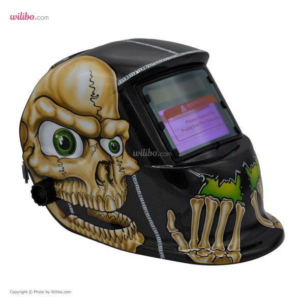 کلاه ماسک اتوماتیک مدل ADF-206S طرح Human skeleton