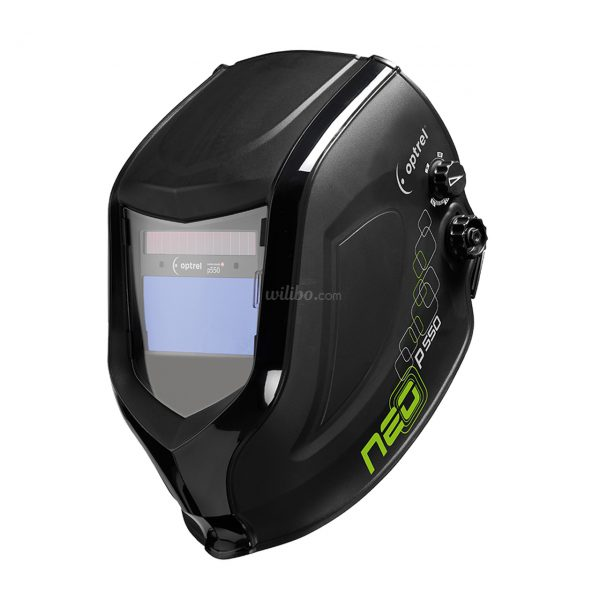 neo p550 black with hard hat