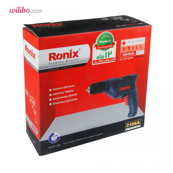 دریل 350 وات اتوماتیک رونیکس مدل 2106A