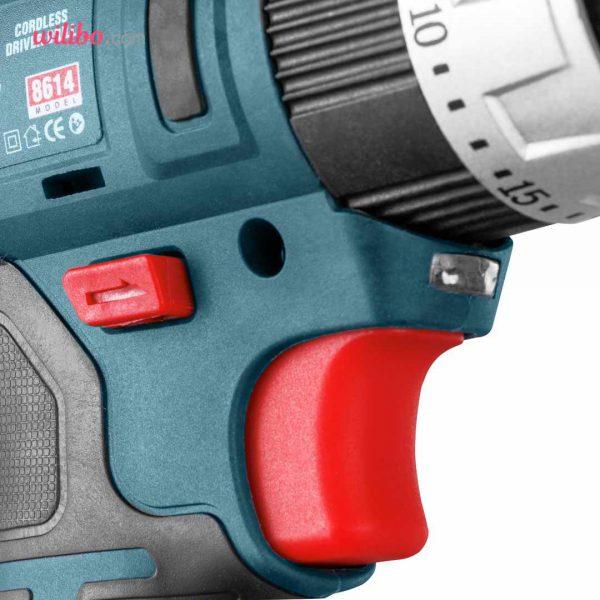 دریل شارژی 14 ولت سری مگا رونیکس مدل 8614