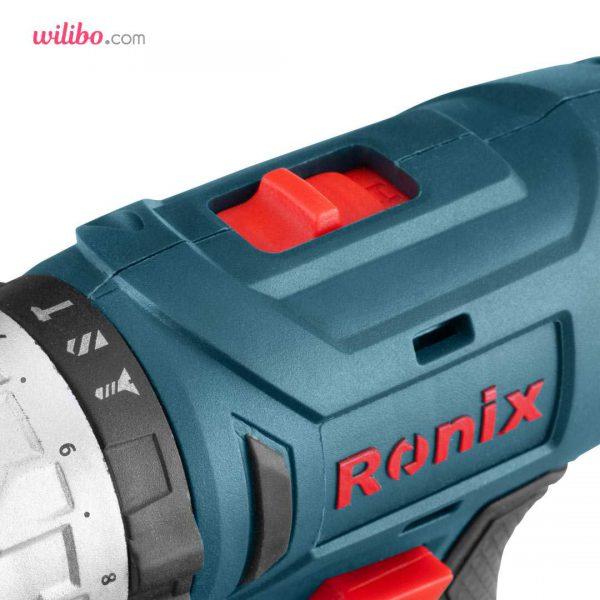 دریل شارژی 18 ولت سری مگا رونیکس مدل 8018